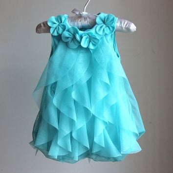 Baby Girls Summer Dress Infant Romper Dresses Toddler Girls Birthday Party Dresses Jumpsuits New Style Baby Clothing 4Color Alternative Measures - Brides & Bridesmaids - Wedding, Bridal, Prom, Formal Gown