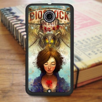 Briliant Bioshock Infinite Poster Nexus 6 Case