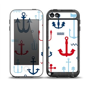 The Various Anchor Colored Icons Skin for the iPod Touch 5th Generation frē LifeProof Case