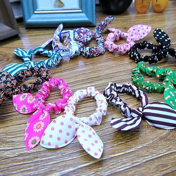 5 pcs rabbit ears bow hair hoop 03 2