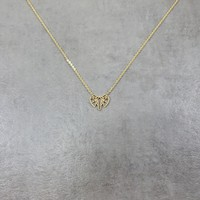Elephant Head Gold Necklace