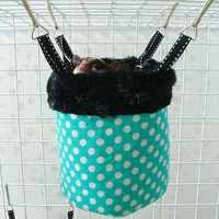 "NEW 5.5"" x 4.5"" Sugar Glider-Rat BOWL HANGING pouch"