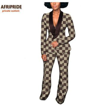 Autumn Monet african ankara women suit
