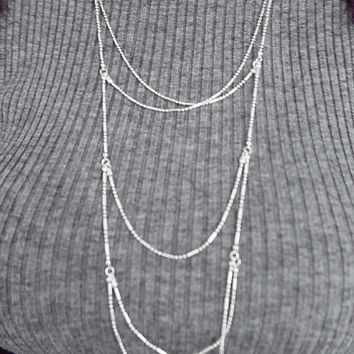 This Is Me Necklace: Silver
