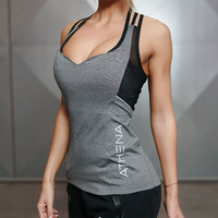 Women Sexy Tank Tops for  Fitness Bodybuilding