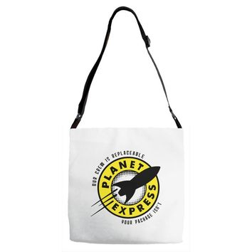 planet express Adjustable Strap Totes