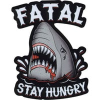 Fatal Stay Hungry Sticker Red Combo One Size For Men 23016734901