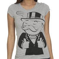 Monopoly Guy Tee | Shop Tops at Wet Seal