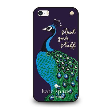 KATE SPADE PEACOCK iPhone SE Case Cover
