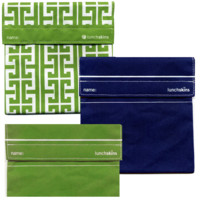 LunchSkins 3pk: Key, Blue, Green