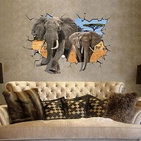 Liroyal 3D Wall Stickers Decor Art Decorations Size 3:Amazon:Home & Kitchen