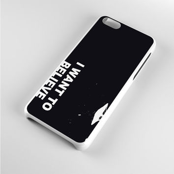 i want to believe art iPhone 5c Case