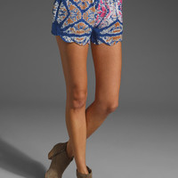 FREE PEOPLE Scallop Edge Voile Short