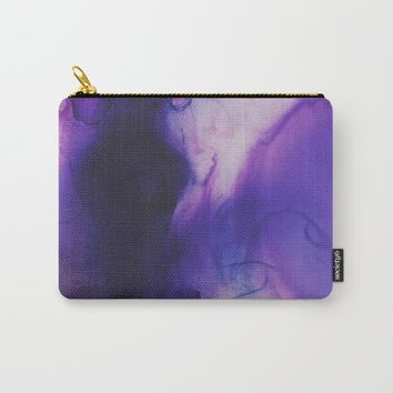 Violet Aura Carry-All Pouch by duckyb