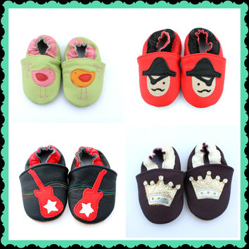 Baby Moccasins - Sweet Lemon Designs
