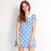Hearts and Bows Azalia Polka Dot Dress