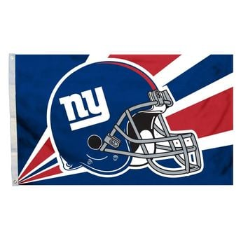 New York Giants 3' x 5' Helmet Flag