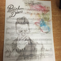 Panic! At The Disco Music Sheet Art