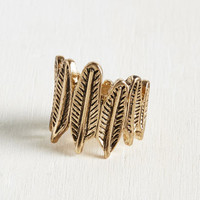 Peace and Tran-Quill-Ity Ring | Mod Retro Vintage Rings | ModCloth.com