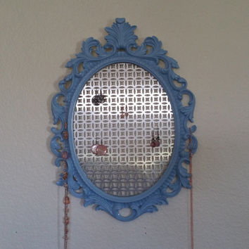 Baroque Frame, Scatter Frame, Jewelry Organizer, Oval Baroque Frame