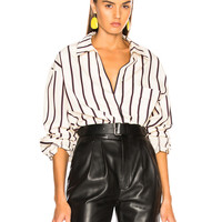 Isabel Marant Venice Shirt in White | FWRD