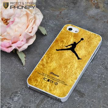 Michael Jordan Golden Gold Pattern iPhone 5|5S Case|iPhonefy