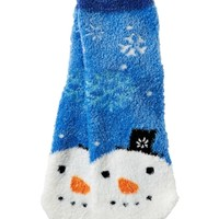 Shea-Infused Lounge Socks Mr. Snowman