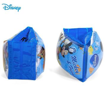Disney Mickey Frozen Princess Children Swimming Arm Ring for learn Swimming Training Water Ring