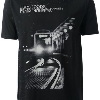 Prps Goods And Co. Train Print T-Shirt