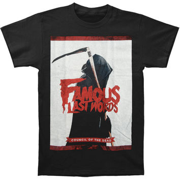 Famous Last Words Men's  Reaper T-shirt Black