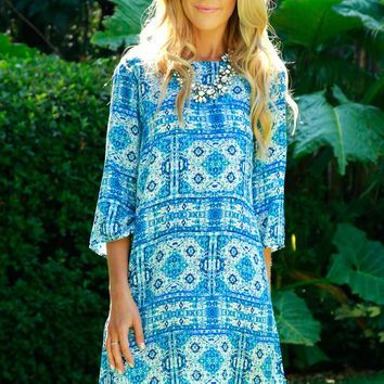 Sea Salt Breeze Shift Dress
