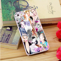Miley Cyrus Photo collage iPhone 5|5S|5C Case Auroid