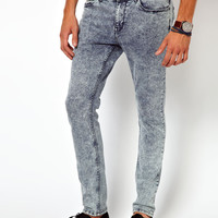 River Island Vinny Acid Wash Jeans