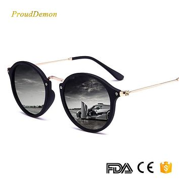 Round Retro Men Vintage Sunglasses 19