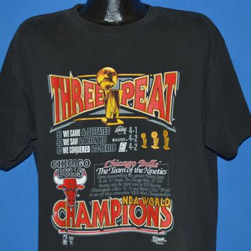 90 Chicago Bulls World Champs 1993 t-shirt Extra Large