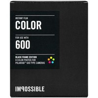 Impossible PRD3553 Color Instant Film (Black Frame Edition) for Polaroid 600-Type Cameras - Walmart.com