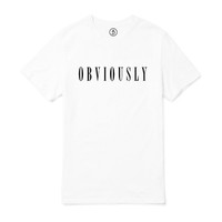 Obviously Boyfriend T-Shirt (White)