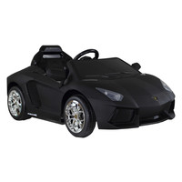 Dexton Kids Lamborghini Aventador LP-700 12V Ride-On Car - Black