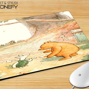 Winnie The Pooh Mousepad Mouse Pad|iPhonefy