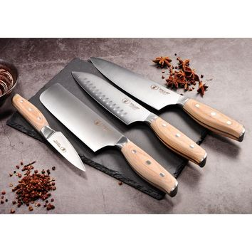 WALLOP Professional Cooking Kitchen Knives Set