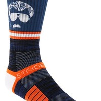 Men's STRIDELINE 'Chicago Bears - Mike Ditka' Socks - Blue