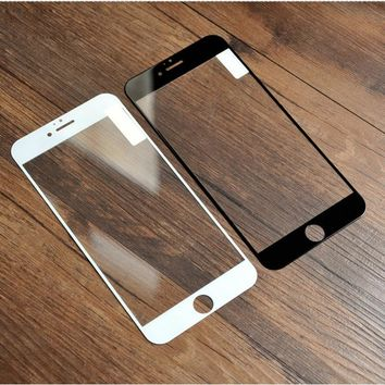 Full Screen Protection Tempered Glass For iPhone X 8 7 Screen Protector Film For iPhone 6 6s Plus 5 5S SE 5C Explosion Proof
