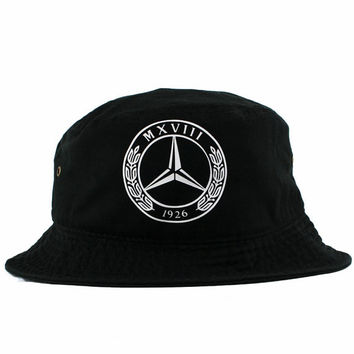 Vintage Mercedes Benz Bucket Hat from AgoraSnapbacks on Etsy 85199aee91d