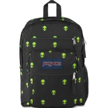 JanSport - Big Student Alien Visitor Print Backpack