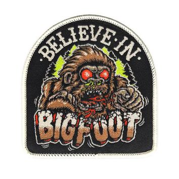 Believe In Bigfoot Patch