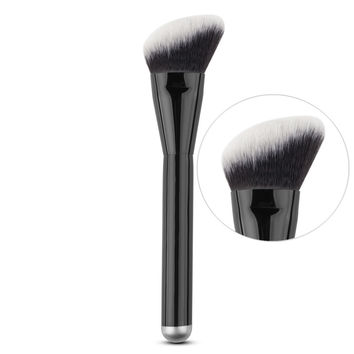 Makeup Round Angled Top Brush for Foundation Powder cheek Contour Blush Blusher Blending Brush Cosmetic Beauty tool