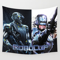 Robocop Wall Tapestry by Store2u