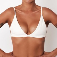 Lacuna Top Ivory