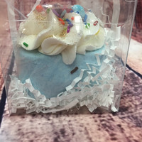 Birthday Cake Luxury Bath Bomb-Large