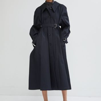 Water Resistant Cotton Twill Trench Coat by Lemaire- La Garçonne